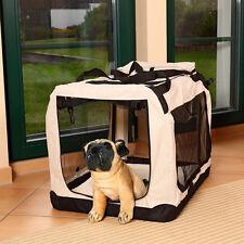 62CM Transportbox Faltbare Autobox Hunde Hundebox Katzenbox Hundetransportbox M