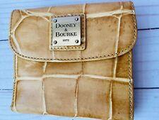 Dooney & Bourke Wallet/Dooney & Bourke/Folding Wallet/Faux Croc Wallet