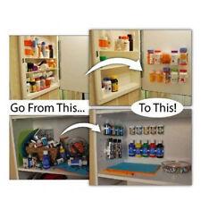 25 Spaces Clip Store Home Kitchen Stick Spice Wall Rack Storage Grippe Organizer