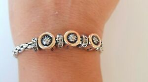 Cable Classics Bracelet with Cubic Zirconia and 9K Gold 5mm Perfect Xmas Gift