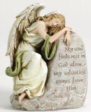 "New listing Roman Joseph's Studio Reclining Somber Angel Memorial Figure 8"""
