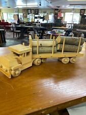 Toy Wooden Logging Truck