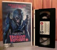 Pumpkinhead: Vengence The Demon - Big Box - CBS Fox Video - Horror - Pal - VHS