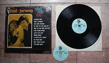 "Chad & Jeremy, original vintage LP, 1965 ""Sing For You"" World Artist Mono Oldies"