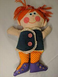 Vintage Playskool Dressy Bessy Teaching Doll. 1970