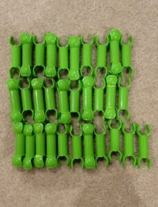 ZOOB BuilderZ Toys Construction Modeling Educational Building Lot of 31, green