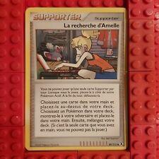 89//111 Pokemon Platine Rivaux Emergeants Supporter La Recherche D/'Amelle