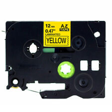 Black on Yellow Label Tape Compatible for Brother TZ 231 TZe 231 P-Touch Mark