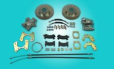 """Ford 8"""" or 9"""" small bearing rear disc brake conversion with parking brakes"""