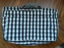 MUJI Large Gingham Handbag Bag Organiser Free UK P&P