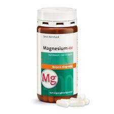 120 Magnesium Supra Kapseln (1 Dose) Sanct Bernhard, hoch dosiert 400 mg