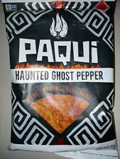 Paqui Haunted Ghost Pepper Tortilla Chips. One Chip Challenge