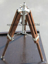 Marine Wooden Tripod Floor Lamp Stand Nautical Shade/Lamp Tripod Home Decorative