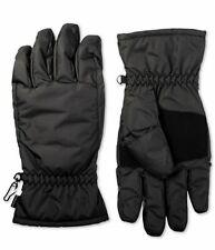 Isotoner Mens Waterproof Touchscreen Winter Gloves [Black M/L $46]