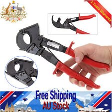 Ratchet Cable Wire Cutter 240mm² Ratcheting Wire Plier Cutting Copper Aluminum