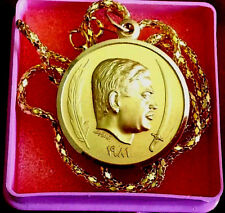 Iraq 1981 Saddam Hussein Golden Medal, Made By Bertoni-Milano. Extremely Rare.
