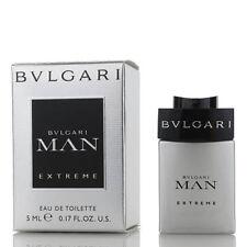 Bvlgari Man Extreme Mini Cologne - 0.17 / .17 oz / 5 ml EDT Splash New In Box