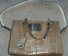New Claudia Firenze Leather Faux Crocodile Handbag Purse Shoulder Crossbody Bag