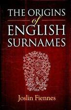 The Origins of English Surnames: The Story of Who We Were-ExLibrary