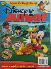 Disney Junior Mar Apr 2016 Where The Magic Begins Stories Games FREE SHIPPING sb