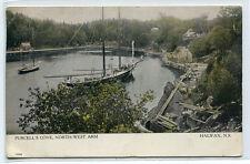 Sailing Ship Purcell's Cove North West Arm Halifax Nova Scotia Canada postcard