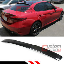 FOR 17-2020 ALFA ROMEO GIULIA QUADRIFOGLIO CARBON FIBER REAR WINDOW ROOF SPOILER