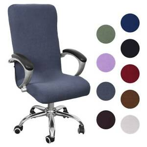 Stretch Computer Office Chair Slipcover Covers Cover Seat Rotat Task Desk