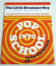 Partition sheet music NANA MOUSKOURI : Little Drummer Boy * School Ensemble