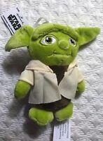 Disney Star Wars Yoda Hallmark Plush Holiday Christmas Hang Ornament Green New