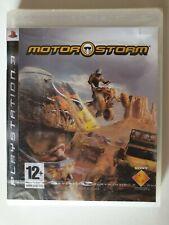 MotorStorm (PS3, 2007) - Spanish Edition [Brand new & Sealed]