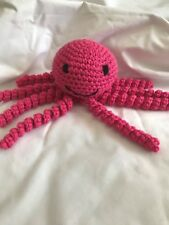 **HAND MADE** CROCHET OCTOPUS TOY