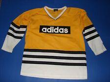 Adidas Hockey Jersey Adult Large Yellow and White