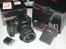 Sigma SD SD-15 14MP Digital SLR Camera + 18-50mm DC OS Lens [C24900]