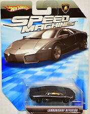 HOT WHEELS SPEED MACHINES LAMBORGHINI REVENTON BLACK