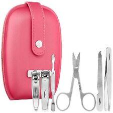 NEW Sephora PINK Travel Tips Mini Mani Kit Manicure File Pusher Clipper Scissor