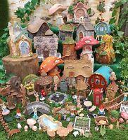 Vivid Arts Miniature World Fairy Pixie Animals Forest Dolls House Accessories