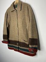 Ralph Lauren Jacket VTG Polo Country Southwestern RRL Aztec Hunting Mackinaw