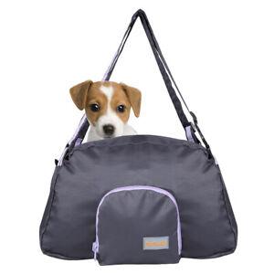 Foldable Sports Nylon Soft Shoulder Bag Pet Dog Cat Travel Sling Carrier Tote