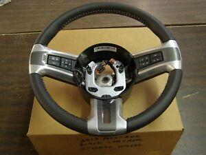 OEM Ford 2010 2014 Mustang Leather Wrap Steering Wheel 2011 2012 2013 GT nos