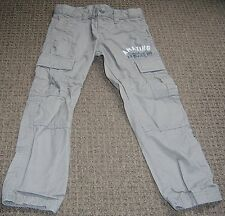 BENETTON BOYS SLIM CARGO PANTS SZ  4 - 5 NEW WITHOUT TAGS