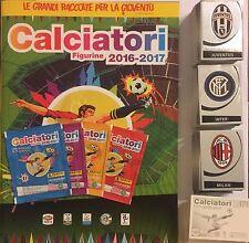Calciatori panini 2016/17 - album vuoto + set completo 745 figurine + C1-C20