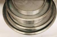 Oven aluminum trays for sweets and baklava Baklaw صواني فرن للبقلاوة ألمنيوم