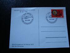 SUISSE - carte postale 28/4/1984 (reproduction) (cy12) switzerland