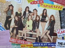 "GIRLS GENERATION ""PAPARAZZI"" HONG KONG PROMO POSTER - K-Pop Music"