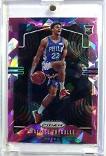 2019 Panini Prizm Pink Cracked Ice Matisse Thybulle Rookie RC #290, Refractor