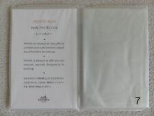 NEW Hermes Paris Bag Rain Protection Cover No 7 BIRKIN 25 Haut a Courroies 28