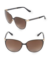 e96e90ce93b 🍀NEW Jimmy Choo Posie Crystal Temple Luxe Navy Round Sunglasses Retail  390