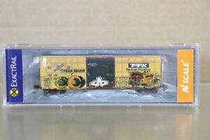 EXACTRAIL EN-50701-40 N WEATHERED TTX TRINITY 6275 PD BOX CAR FBOX 505239 nz