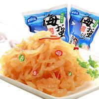 Snacks Chinese Instant Food Jellyfish Slices Haizhe 凉拌即食海蜇丝 星仔岛野生海蜇丝150/包 Haihk