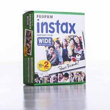 FUJI instax WIDE 5x 20er Pack Film (für 100 Aufnahmen) Sofortbildfilm 05/2019